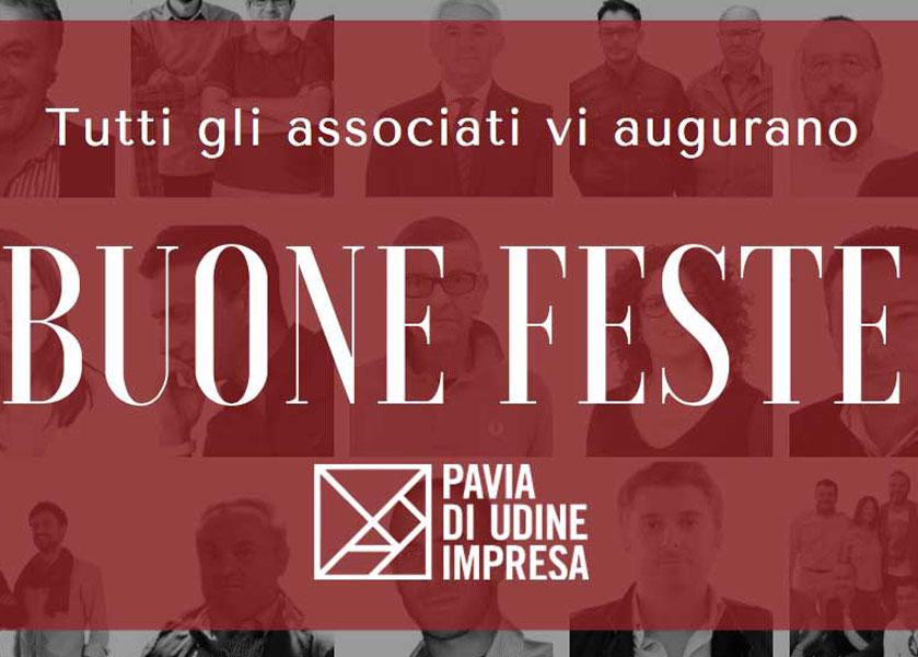 Pavia di Udine Impresa vi augura Buone Feste!